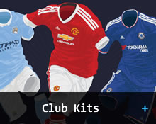 Buy official jerseys from the English Premier League, Laliga, Bundesliga etc...Manchester United, Liverpool, Arsenal, Chelsea, Barcelona, Real Madrid, Bayern Munich...